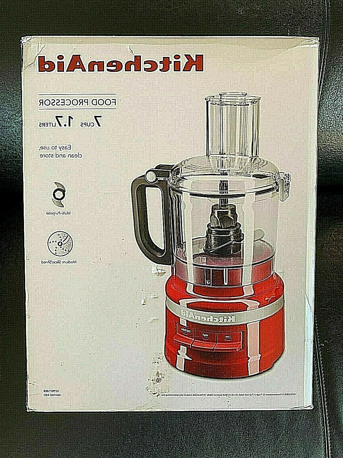 new in box kitchen aid empire red