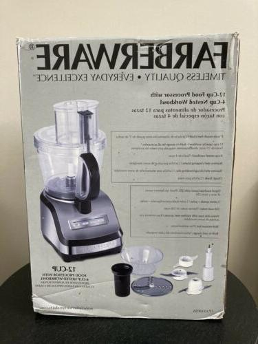 NEW Farberware Stainless Steel Base Processor