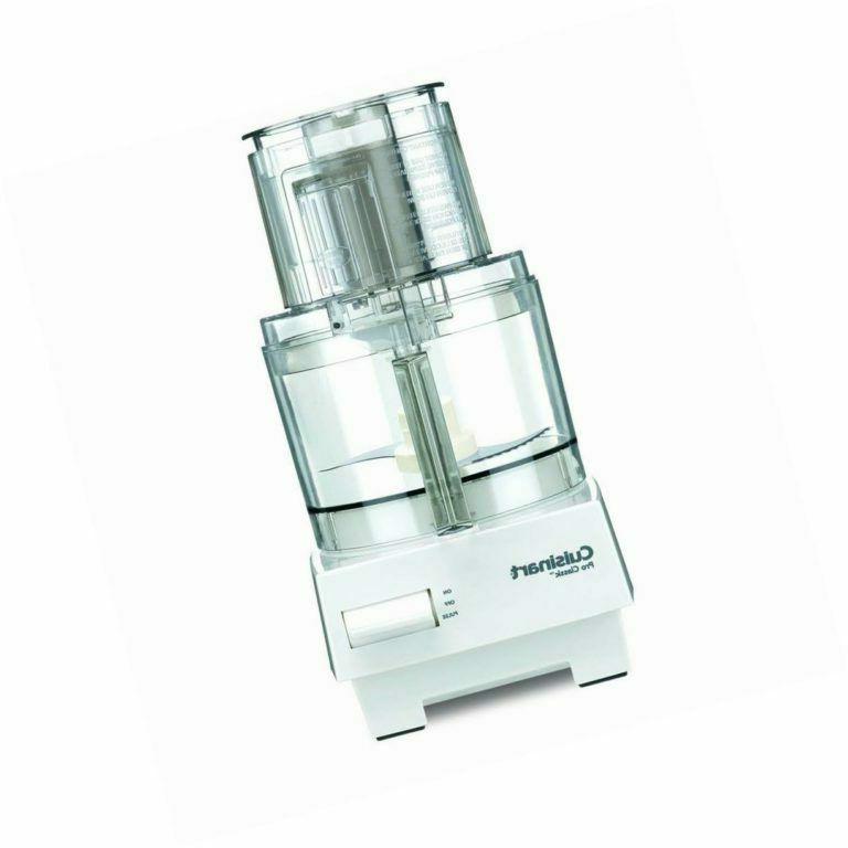 Slice Stored CUISINART 7-Cup Food White