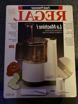 Regal La Machine1 Food Processor Brand New Unopened Box