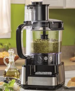 Large Food Processor 12 Cup Chopper Vegetable Blender Shredd