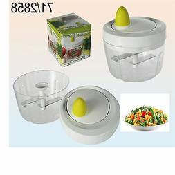 Manual Food Grinder Mini Vegetable, Fruit and Nut Chopper,Fo