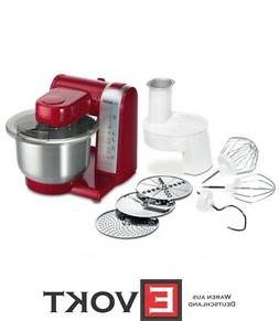 Bosch MUM48R1 Food Processor With Accessories red NEW