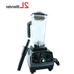 New! 2L 1400W Heavy Duty Commercial Blender Mixer Juicer Foo