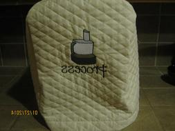 New FOOD PROCESSOR appliance covers BLACK or IVORY//CREAM choose from RED