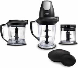 Ninja Master Prep Blender, Slicer, Food Processor, Black QB1
