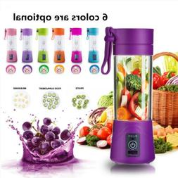 Portable USB Electric Juice Blender Food Processor Smoothie