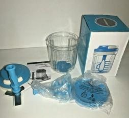 Tupperware New Smooth Chopper 3-cup Non-Electric Blue Mini-F